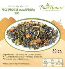 Té Recuerdos de la Alhambra, BIO, 30 g Pilar Nature