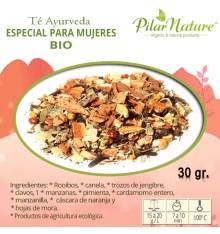Té Ayurveda especial para mujeres, BIO, 30 g Pilar Nature
