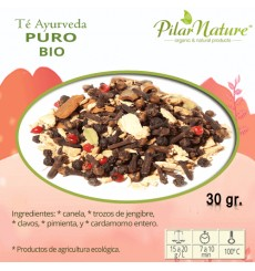 Té ayurveda puro BIO, 30 g Pilar Nature