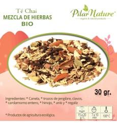Té Chai mezcla de hierbas, BIO, Pilar Nature,  30 g