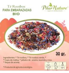 Té Rooibos para embarazadas, BIO, Pilar Nature,  30 g