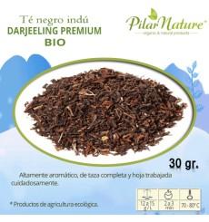 Té negro indú Darjeeling PREMIUM, BIO, Pilar Nature,  30 g