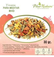 Té / Tisana para MEDITAR BIO Pilar Nature,  30 g