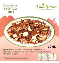 Té Rooibos EXÓTICO, BIO, Pilar Nature,  30 g