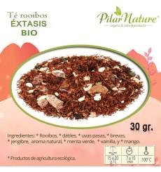Té Rooibos ÉXTASIS, Pilar Nature,  BIO, 30 g