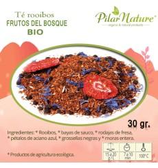 Té Rooibos frutos del bosque BIO, Pilar Nature,  30 g