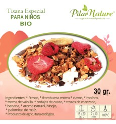 Té SUAVE para NIÑOS, BIO, Pilar Nature, 30 g