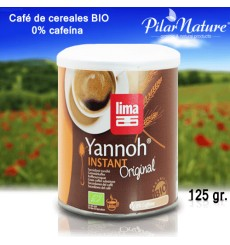 Café de Cereales BIO Yannoh Instant - Lima125 grs
