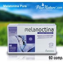 Melatonina Pura, Plameca, 60 comprimidos.