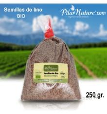 Semillas de lino o linaza dorada BIO  250 gr. Pilar Nature