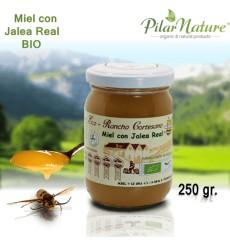 Miel con JALEA REAL, BIO, 250 g