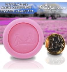 Molde para pastilla jabón, - postura Kamasutra 1 Pilar Nature