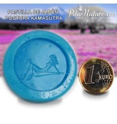 Molde para pastilla jabón - postura Kamasutra 3 Pilar Nature