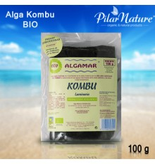 Alga Kombu, Algamar, BIO, 100 g