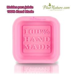 Molde para pastilla jabón, 100% hand Made Pilar Nature