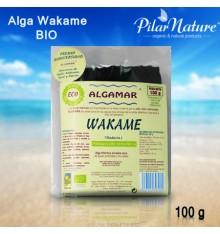 Alga Wakame, ALGAMAR, BIO, Pilar Nature, 100 g