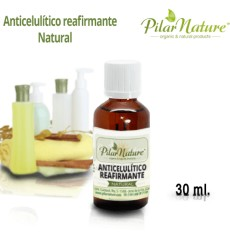 Anticelulítico y reafirmante natural,  30 ml Pilar Nature