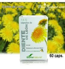 Diente de león, 60 cápsulas. Soria Natural - Pilar Nature