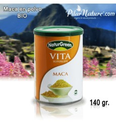 MACA ANDINA, VITA, EN POLVO, NATURGREEN, 250 g, Pilar Nature