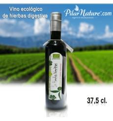 Vino ecológico de hierbas digestivas, 37.5 cl Josenea