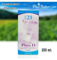 Plan D - DRENANTE, Plameca, 250 ml Pilar Nature