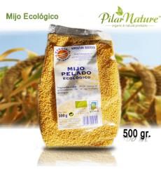 Mijo pelado ecológico, L'exquisit, 500gr, Pilar Nature