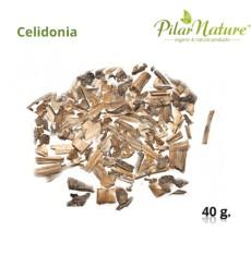 Celidonia (Chelidonium majus L.), hoja,  40 g