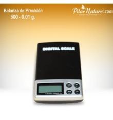 Balanza / báscula de precisión 0,01 gr. a 500 g.