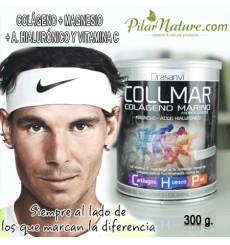 Colágeno marino, magnesio y ácido hialurónico, Collmar, 300 gr, Drasanvi, Pilar Nature