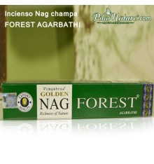 Incienso barritas Nag Forest, Pilar Nature