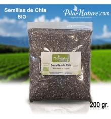 Semillas de Chía, BIO, 200gr,  Pilar Nature