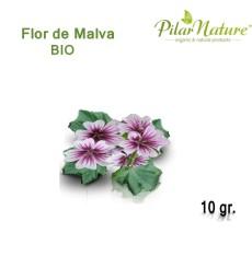 Malva (Malva sylvestris) de cultivo ecológico 30 gr Pilar Nature
