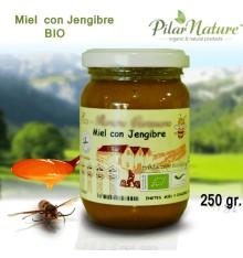 MIEL MIL FLORES ECOLÓGICA CON JENGIBRE, 250 Pilar Nature
