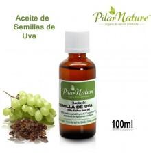 Aceite semillas de Uva BIO (Vitis Vinifera) 100ml Pilar Nature