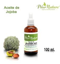 Aceite de Jojoba BIO (Simmondsia chinensis) 100 ml Pilar Nature