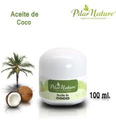 Aceite de Coco BIO (Coccus Nucifera) 100ml Pilar Nature