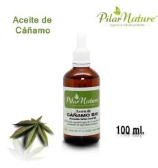 Aceite de Cáñamo BIO (Cannabis sativa) 100 ml Pìlar Nature