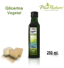 Glicerina vegetal, 500 ml. Pilar Nature