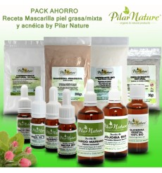 PACK AHORRO Mascarilla con Ghassoul by Pilar Nature