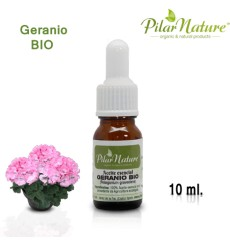Aceite Esencial de Geranio BIO (Pelargonium glaveolens) 10 ml