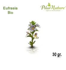 Eufrasia (Euphrasia sp.), planta cortada de cultivo biológico 30 gr