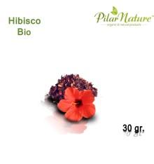 Hibisco (Hibiscum Sabdariffa) de cultivo biológico 30 gr
