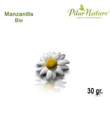 Manzanilla dulce (Matricaria chamomilla) de cultivo biológico 30 gr. Pilar Nature