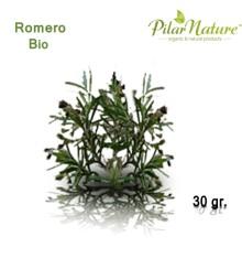 Romero (Rosmarinus officinalis) de cultivo biológico 70 gr. Pilar Nature