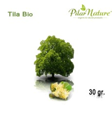 Tila (Tilia officinalis) planta de cultivo biológico 30 gr. Pilar Nature