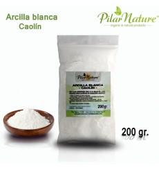 Arcilla Blanca Caolín (máxima pureza) Pilar Nature 200 gr.