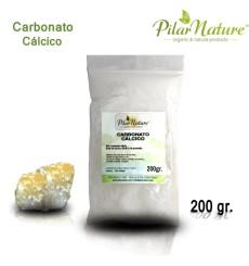 Carbonato Cálcico ( libre de metales pesados) 200 gr Pilar Nature