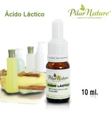 Ácido Láctico (90%)   10 ml. Pilar Nature