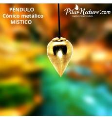Péndulo metálico cónico MISTICO Vintage (radiestesia) Pilar Nature