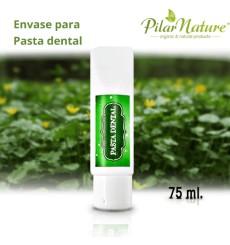 Envase para pastas de dientes 100 ml Pilar Nature
